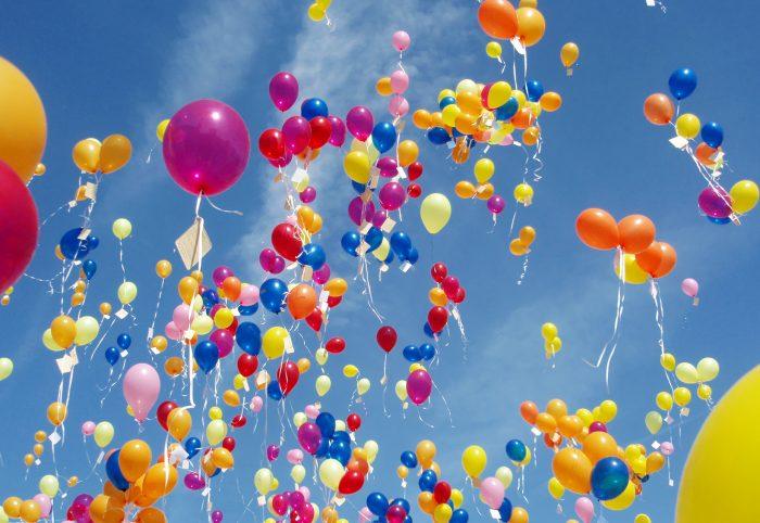 Открытки с днем воздушных шариков